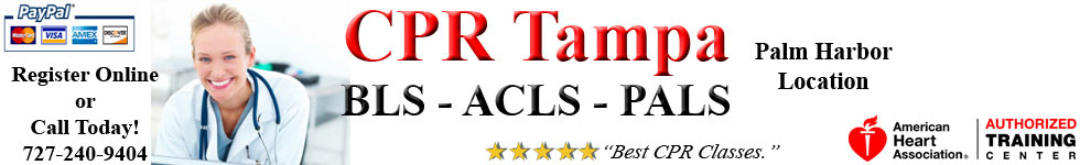 CPR Tampa | BLS, ACLS & PALS Classes | CPR Certification