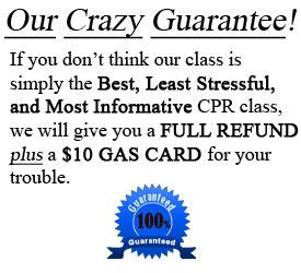 CPR Class Guarantee
